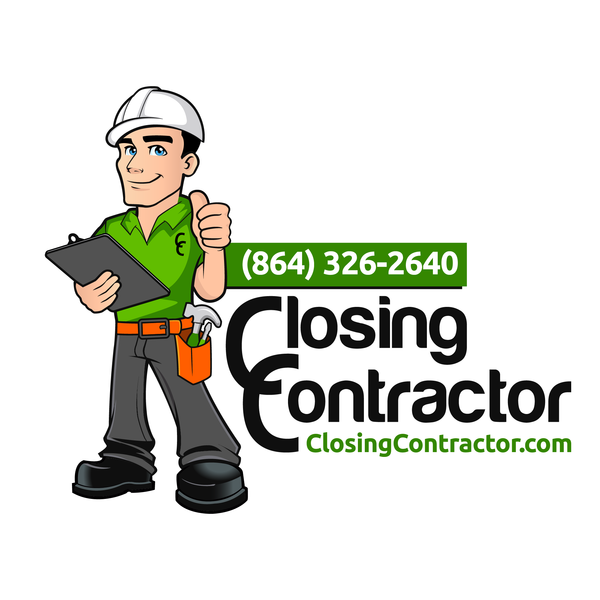 Closing Contractor in Greenville, SC - Logo