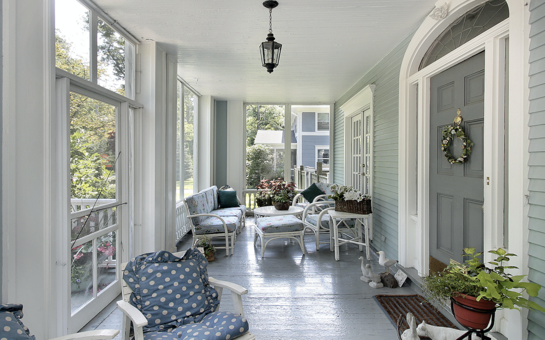 Screened Porch Summer Living Tips